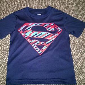 Kid's size XS (4/5) Superman dri fit tee